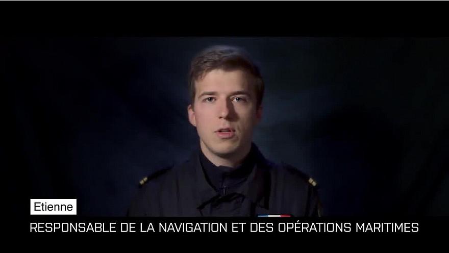 #Portrait - Étienne, officier responsable de la navigation et des opérations maritimes @etremarin